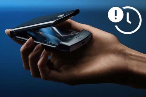 Motorola Razr 2019 zpoždění