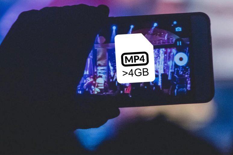 nahrávání velkých videí v Androidu