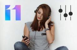 nastavení zvuku v MIUI 11