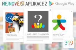 Nejnovější aplikace z Google Play #319: český MBTI test osobnosti