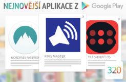 Nejnovější aplikace z Google Play #320: vylaďte si hlasitost vyzvánění