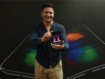 Petr Mišák a Samsung Galaxy Fold