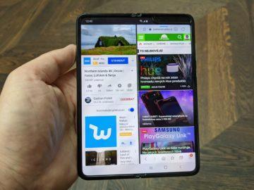První dojmy ze Samsung Galaxy Fold hlavní displej