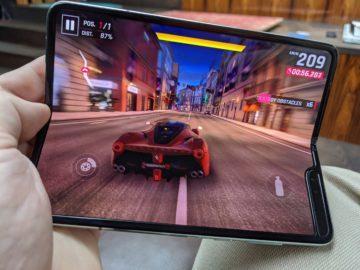 První dojmy ze Samsung Galaxy Fold hraní her 4