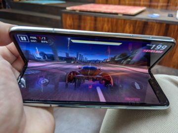 První dojmy ze Samsung Galaxy Fold hraní her 5