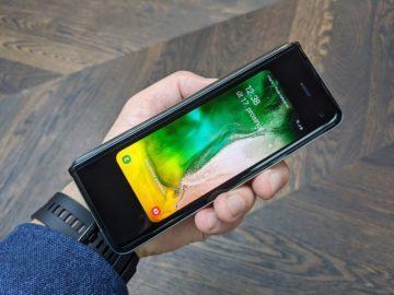 První dojmy ze Samsung Galaxy Fold přední displej