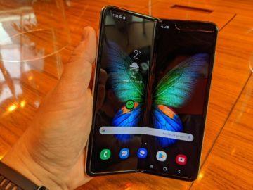 První dojmy ze Samsung Galaxy Fold ruka 2