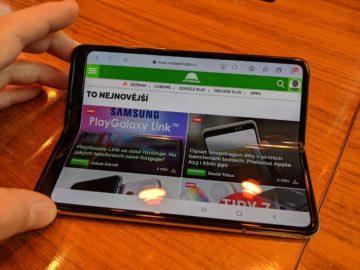 První dojmy ze Samsung Galaxy Fold ruka 9