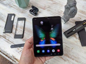 První dojmy ze Samsung Galaxy Fold unpacking 1