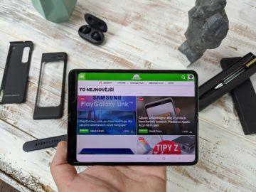 První dojmy ze Samsung Galaxy Fold unpacking 2
