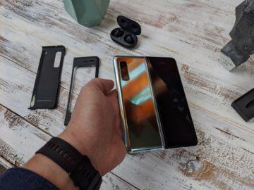 První dojmy ze Samsung Galaxy Fold unpacking 6