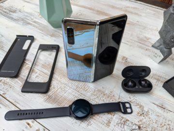 První dojmy ze Samsung Galaxy Fold unpacking 7