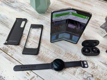 První dojmy ze Samsung Galaxy Fold unpacking 8
