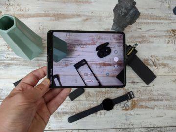 První dojmy ze Samsung Galaxy Fold unpacking 9