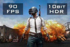 PUBG Mobile s 90 FPS a 10bit HDR