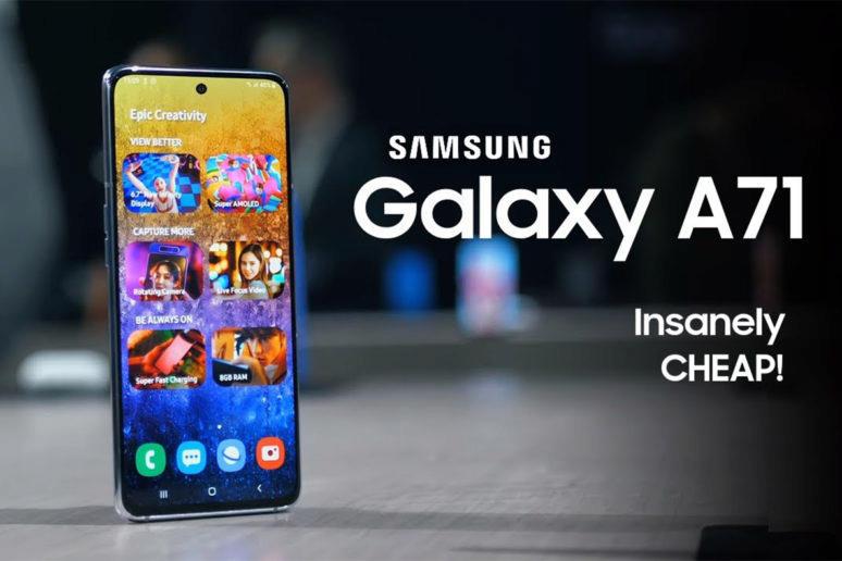 samsung galaxy a (2020)