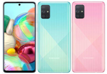 samsung galaxy a71 design