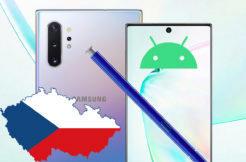 samsung galaxy note 10 aktualizace na android 10 v ČR
