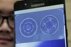 samsung skener oční duhovky