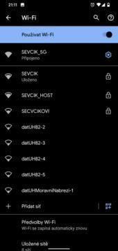 sdílení WiFi přes QR kód návod 3