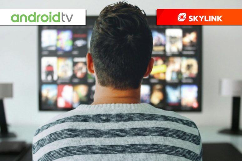 Skylink Live TV na Android TV