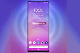 Sony 2020 telefon průstřel