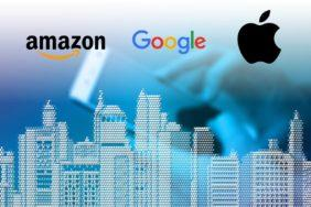 spolupráce Googlu Apple a Amazonu