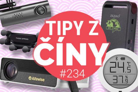 Tipy z ciny - FullHD projektor, GPS, teploměr a kamera