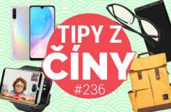 Tipy z ciny - Xiaomi bezdrátová nabíječka, chytré hodinky a batoh