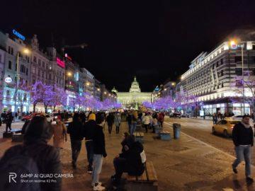 Václavák foto test Realme X2 Pro