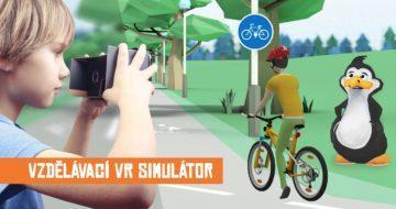 VR cyklista - jak jezdit na kole?