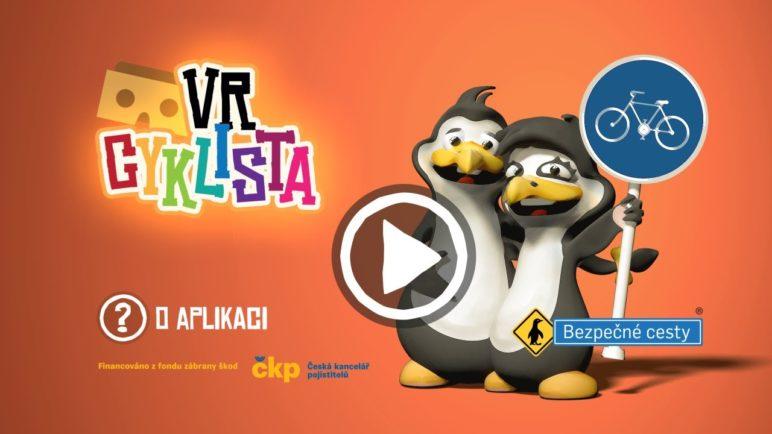 VR Cyklista - video o aplikaci