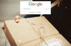 vyhledávání zásilek na Google