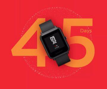 Xiaomi Amazfit Bip Lite lákají na 45denní výdrž