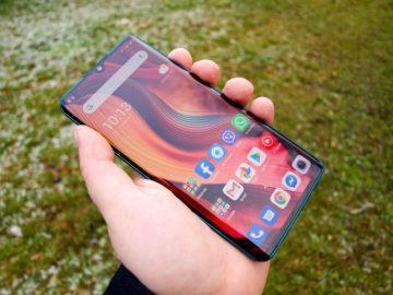 Xiaomi Mi Note 10 displej