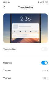 Xiaomi Mi Note 10 noční režim