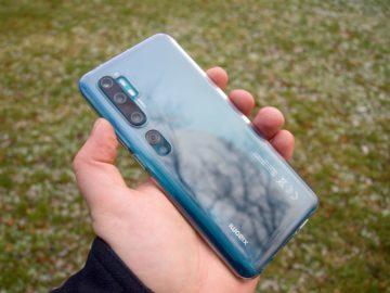 Xiaomi Mi Note 10 TPU obal