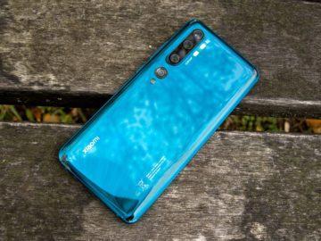 Xiaomi Mi Note 10 zadní strana