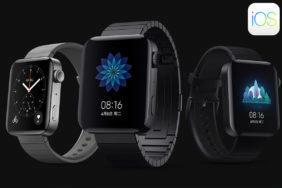 xiaomi mi watch aktualizace podpora ios