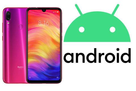 xiaomi redmi note 7 aktualizace android 10 miui 11