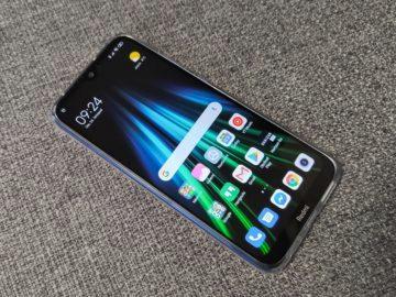 Xiaomi Redmi Note 8T přední strana s obalem