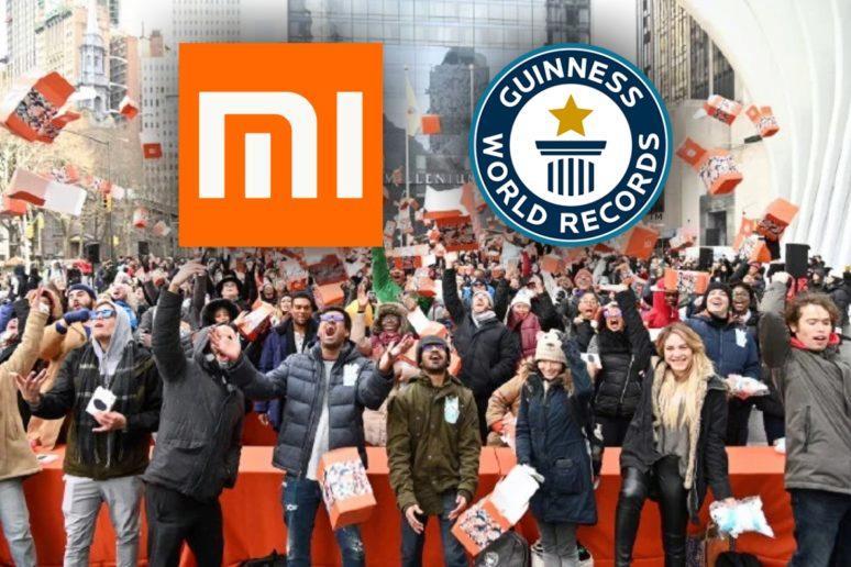 Xiaomi světový rekord