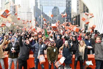 Xiaomi světový rekord oslava