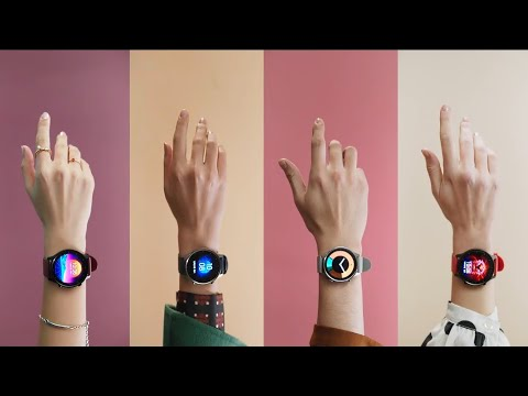 Xiaomi Watch Color Official Promo | Round Dial