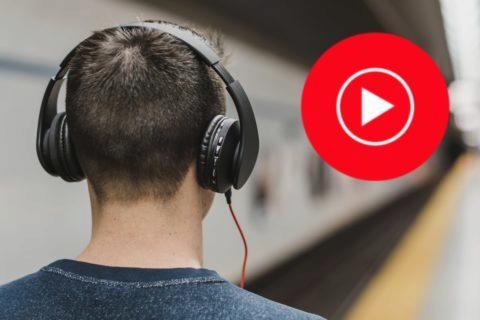 YouTube Music přehrávání bez mezer
