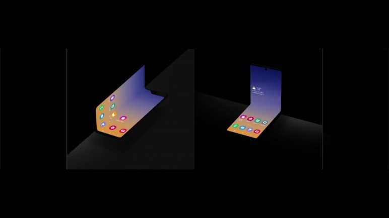 A New Form Factor for Foldable Smartphones