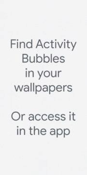Activity Bubbles 1