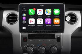 Alpine iLX-F411 autorádio android auto