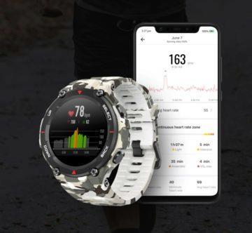 Amazfit T-rex hodinky G-Shock