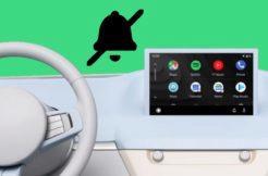 Android Auto vypnutí hlasité notifikace